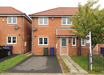 Thumbnail 3 bedroom semi-detached house for sale in Druridge Drive, Newcastle Upon Tyne, Tyne And Wear