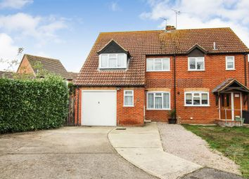 Thumbnail 3 bed semi-detached house for sale in Fokerham Road, Thatcham
