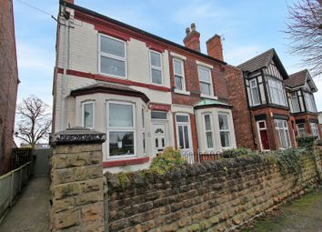 Thumbnail 3 bed semi-detached house for sale in Nelson Road, Daybrook, Nottingham