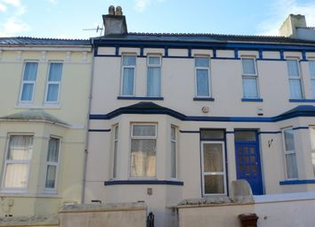 Thumbnail 3 bedroom terraced house for sale in Furzehill Road, Mutley, Plymouth