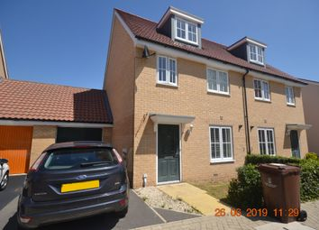 Thumbnail 3 bed semi-detached house to rent in Foundation Way, Colchester
