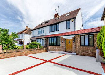 Thumbnail 4 bed semi-detached house to rent in Common Lane KT15, New Haw, Addlestone,
