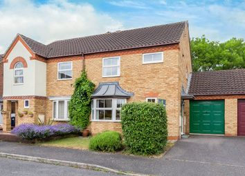 Thumbnail 3 bed semi-detached house for sale in Landcliffe Close, St. Ives, Huntingdon