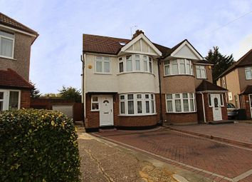Thumbnail 4 bed semi-detached house for sale in Danemead Grove, Northolt