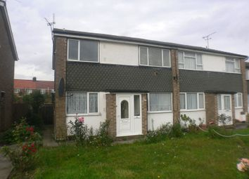 Thumbnail 2 bed maisonette to rent in Kennedy Avenue, Enfield, Greater London, UK