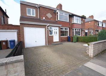 Thumbnail 3 bed semi-detached house for sale in Bretton Gardens, High Heaton, Newcastle Upon Tyne