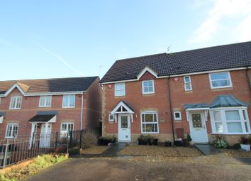 Thumbnail 3 bed end terrace house to rent in Howell Close, Arborfield, Reading