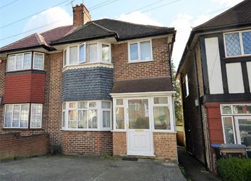 Thumbnail 3 bed semi-detached house for sale in Tudor Court South, Wembley, Middlesex