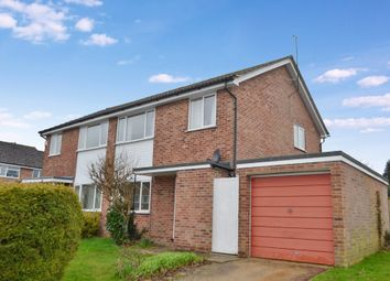 Thumbnail 3 bed semi-detached house for sale in Meyrick Drive, Newbury