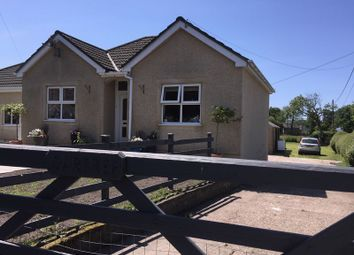 Thumbnail 4 bed detached bungalow for sale in New Road, Llanmorlais, Swansea
