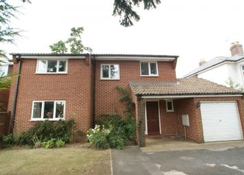 Thumbnail 4 bed detached house to rent in First Avenue, Denvilles, Havant