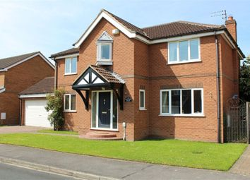 Thumbnail 4 bedroom detached house for sale in Crofters Drive, Cottingham, East Riding Of Yorkshire