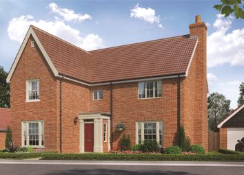 Thumbnail 4 bed detached house for sale in Lark Grove, Somersham, Ipswich, Suffolk