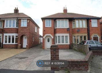Thumbnail 3 bed semi-detached house to rent in Fitzroy Road, Blackpool