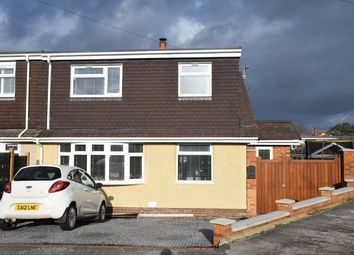 Thumbnail 3 bed semi-detached bungalow for sale in Hawkhurst Court, Nottage, Porthcawl