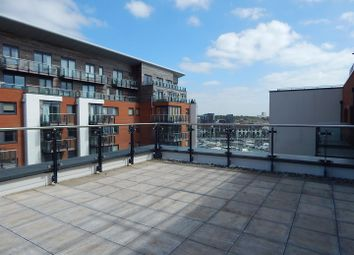 Thumbnail 2 bedroom flat to rent in Admirals Quay, Ocean Way, Southampton