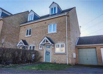 Thumbnail 3 bed semi-detached house for sale in Boleyn Avenue, Peterborough