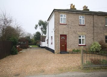 Thumbnail 4 bed semi-detached house for sale in Hargham Road, Attleborough