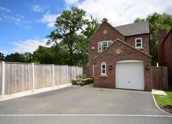Thumbnail 3 bed detached house for sale in Penley Hall Drive, Penley, Wrexham