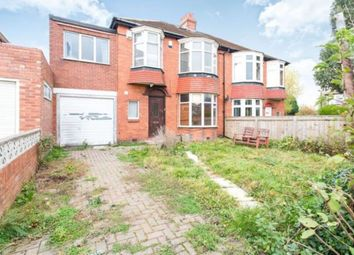 Thumbnail 5 bedroom semi-detached house for sale in Mountfield Gardens, Kenton, Newcastle Upon Tyne
