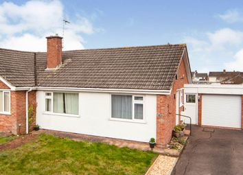 Thumbnail 2 bedroom semi-detached bungalow for sale in Upcot Crescent, Taunton