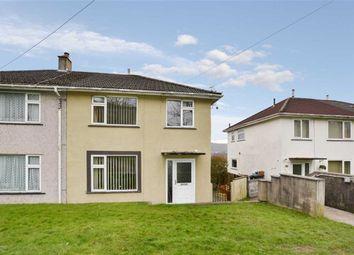 Thumbnail 3 bedroom semi-detached house for sale in Bronhaul, Aberdare, Rhondda Cynon Taff
