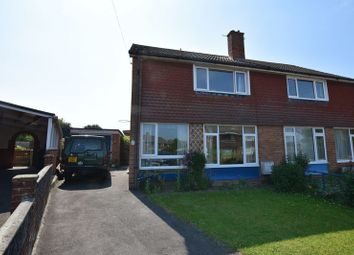 Thumbnail 3 bed semi-detached house for sale in Seville Crescent, Andover