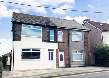 Thumbnail 3 bed semi-detached house for sale in Station Terrace, Penyrheol, Caerphilly