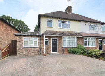 Thumbnail 4 bed semi-detached house for sale in Hevers Avenue, Horley