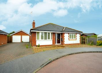 Thumbnail 3 bed bungalow for sale in Long Barrow Drive, North Walsham