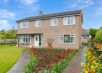 Thumbnail 4 bed detached house for sale in Lawson Leas, Barrowby, Grantham