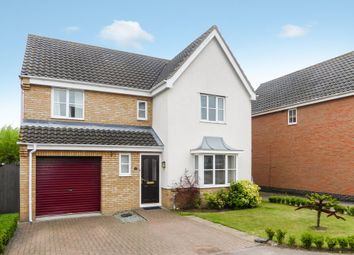 Thumbnail 4 bed detached house for sale in 18 Copplestone Close, Worlingham, Beccles