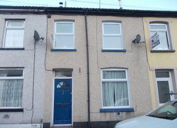 Thumbnail 2 bed terraced house for sale in Taff Street, Blaenllechau, Ferndale, Rhondda, Cynon, Taff.