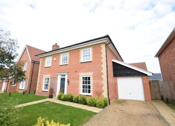 Thumbnail 4 bed detached house for sale in Mulbarton, Norwich