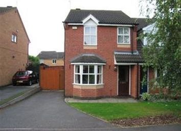 Thumbnail 3 bed semi-detached house to rent in Coales Avenue, Whetstone, Leicester