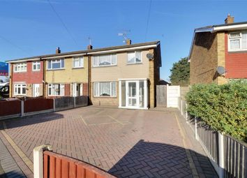 Thumbnail 3 bed end terrace house for sale in Church Road, Tilbury
