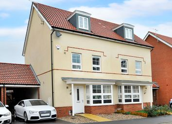 Thumbnail 4 bed semi-detached house for sale in Quicksilver Street, Worthing
