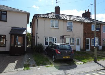 Thumbnail 2 bed end terrace house for sale in Haylings Road, Leiston