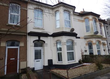 Thumbnail 3 bed flat to rent in Tothill Road, Plymouth