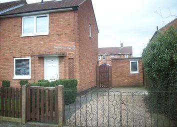 Thumbnail 2 bed semi-detached house to rent in Ambleside Close, Leicester