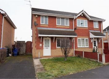 Thumbnail 3 bed semi-detached house for sale in Moat Croft, Doncaster