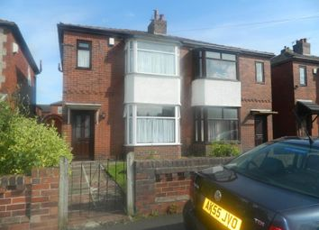 Thumbnail 3 bedroom semi-detached house to rent in Broxton Avenue, Bolton
