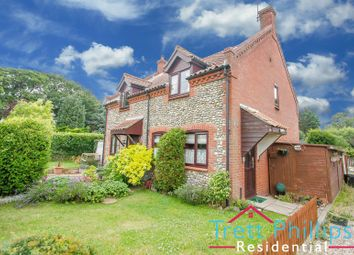 Thumbnail 2 bed semi-detached house for sale in Brick Kiln, New Road, Catfield, Great Yarmouth