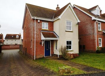 Thumbnail 3 bed detached house for sale in Watton, Thetford, Norfolk