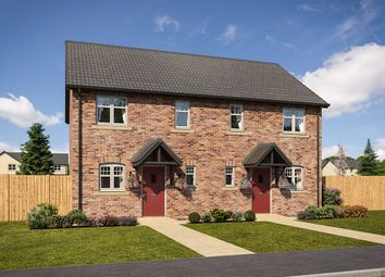 "Thumbnail 2 bedroom semi-detached house for sale in ""Lumley"" at Mason Avenue, Consett"