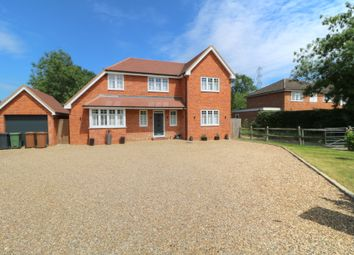 Thumbnail 4 bed detached house for sale in Send Marsh Road, Ripley, Woking