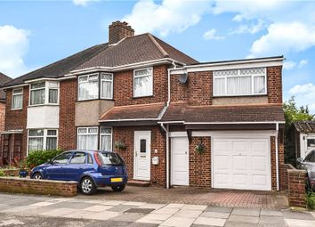 Thumbnail 4 bed semi-detached house for sale in Dorchester Road, Northolt, Middlesex