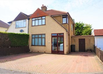 Thumbnail 3 bed semi-detached house for sale in Aldersmead Avenue, Croydon