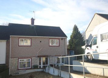 Thumbnail 2 bedroom end terrace house to rent in Carradale Road, Woolwell, Plymouth