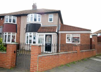 Thumbnail 4 bed semi-detached house for sale in Deepdene Road, Sunderland